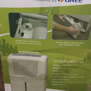 Brand New Dehumidifier - 45 Pint for Sale in Grayslake, IL