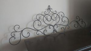 Rod iron design wall decor for Sale in Jurupa Valley, CA