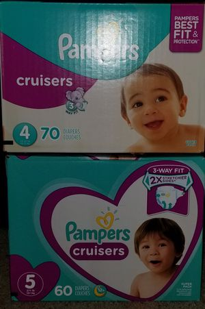 Pampers Cruisers size 4 and 5 for Sale in Glendora, CA