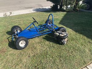 Go kart roller with parts asking $180 obo for Sale in Fowler, CA