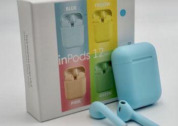 Sky Blue i12 Mini EarPods for Sale in Sylmar,  CA