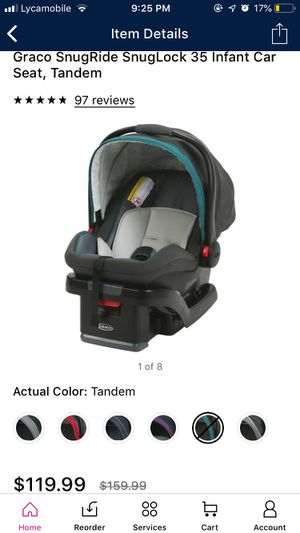 Like new - Car seat with Cover and back cushion for Sale in Bentonville, AR