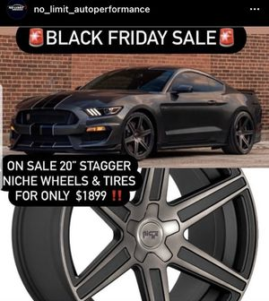 "20"" 5 lug wheels on sale for Sale in Palos Hills, IL"