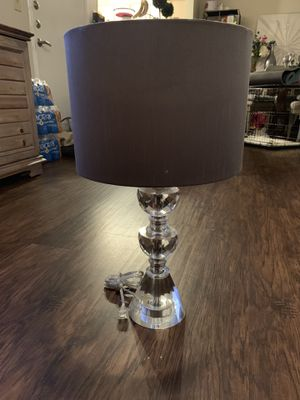 2 Crystal lamps for Sale in San Antonio, TX