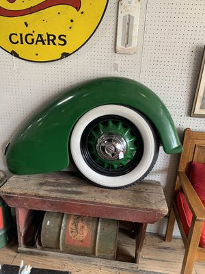Tire and Fender decorative for Sale in Beaver Falls, PA