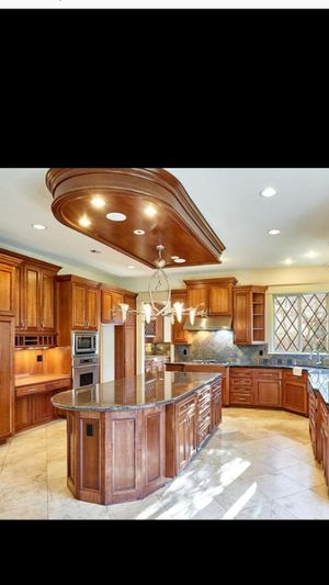 Beautiful custom kitchen cabinets bathroom cabinets and office cabinet for Sale in Vancouver, WA