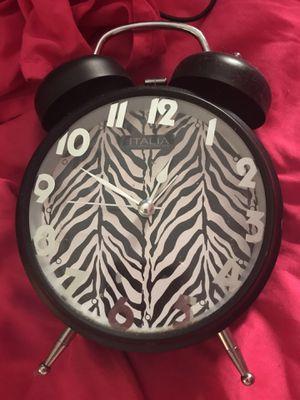 Zebra alarm clock for Sale in North Las Vegas, NV