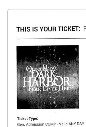 Dark Harbor Queen Mary for Sale in Riverside, CA