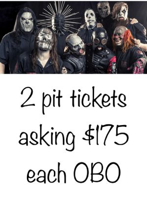 Slipknot tickets for Sale in Mansfield, MA