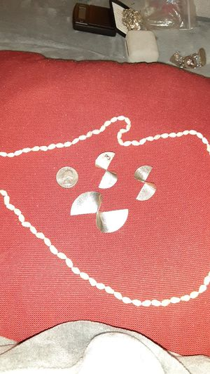 Necklace brooch and earring set for Sale in Ruskin, FL
