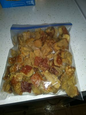 Genos. Fresh homemade cracklings for sale $10 a Bag {contact info removed}. for Sale in Lexington, KY