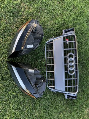 Audi A5/ S5 parts. Grille and Headlights 2008-2012 for Sale in Carmichael, CA