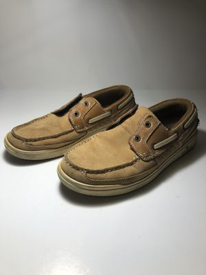 Men's Margaritaville Beige Lace up Boat Deck Shoes Size 8.5 for Sale in San Lorenzo, CA