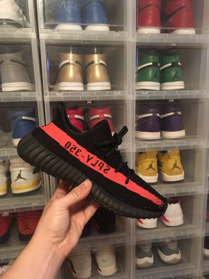 Yeezy 350 v2 Red Stripe size 10 for Sale in DW GDNS, TX
