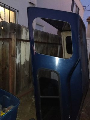 Long bed truck camper shell with working lighting harness for Sale in San Diego, CA