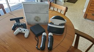 Special edition Destiny ps4 with some games, psvr headset and accessories for Sale in Palmetto Bay, FL