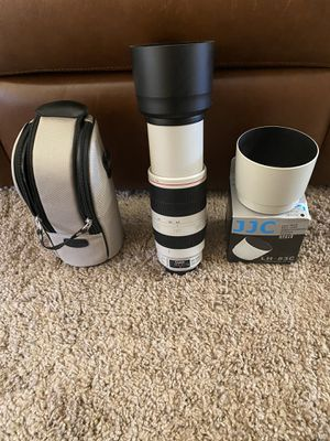 Canon 100-400 is ii like new in box with extra hood for Sale in Scottsdale, AZ