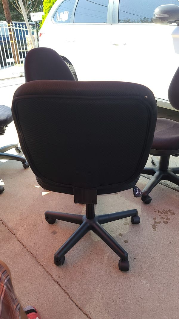 Office chair armless