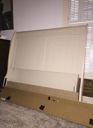 Full size bed frame with nightstand for Sale in Dunn, NC