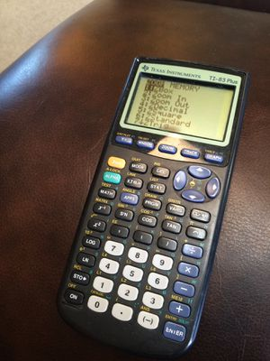 Texas Instruments TI-83 Plus Graphing Calculator for Sale in Troutville, VA