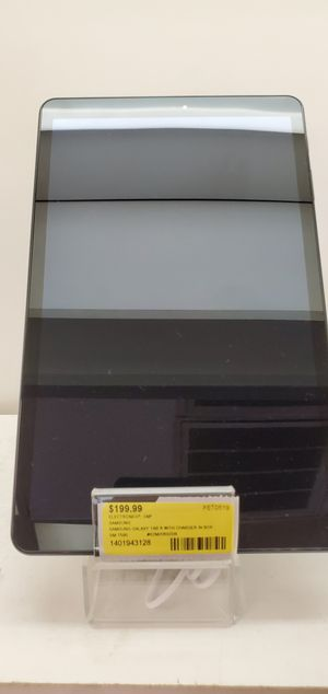 Samsung galaxy tablet with charger for Sale in Jackson, MS