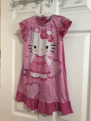 Hello kitty nightgown girls 6t good condition for Sale in San Jose, CA