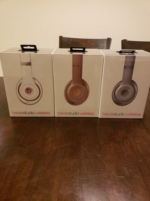 Beats studio wireless bluetooth headphones by dr dre for Sale in Chula Vista, CA