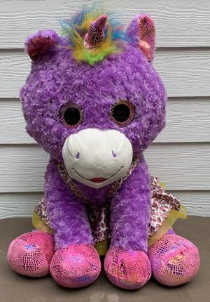 Hugfun International Unicorn Jumbo Plush Teddy bear for Sale in Dallas, GA