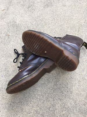 Doc Martens Airwick brown boots uk size 2 for Sale in Fullerton, CA