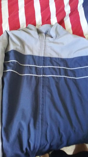 Size XL Gray and Blue Reebok thermal sweater for Sale in Las Vegas, NV