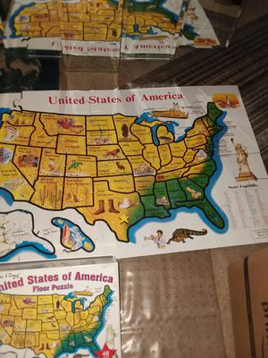 $8 Large great sturdy map of US. for Sale in Orange, CA