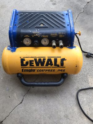 Dewalt compressor for Sale in Modesto, CA
