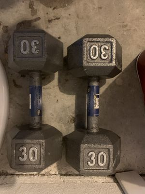 Weights 30lbs each for Sale in Tracy, CA