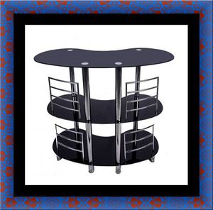 12911 bar glass table for Sale in Washington, DC