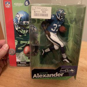 McFarlane Shaun Alexander Seattle Seahawks 7inch Figure for Sale in Plainfield, IL