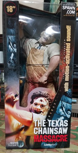 18 Inch Leatherface NEW Vintage Rare Mcfarlane Toys for Sale in Fitzgerald, GA