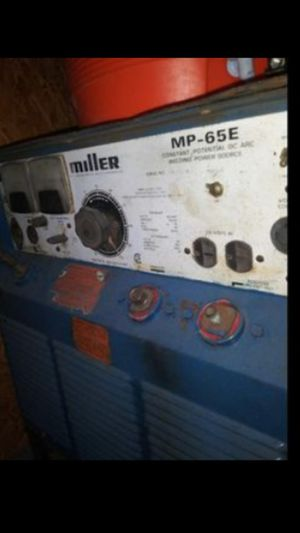 Miller Welder MP-65E for Sale in Humble, TX