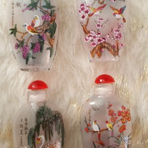 set-of-4 ASIAN-SMALL-PERFUME-BOTTLES for Sale in Marietta, GA