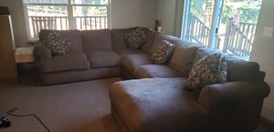 Extremely comfy goose down sectional couch for Sale in Cle Elum, WA