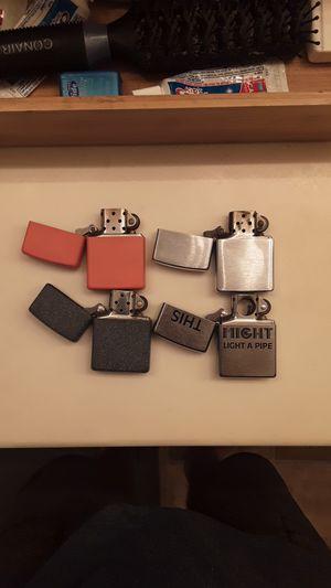 Zippo brand windproof lighters for Sale in Glendale, AZ