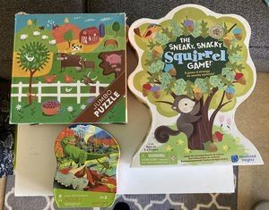 Toddler game and puzzles for Sale in Kent, WA