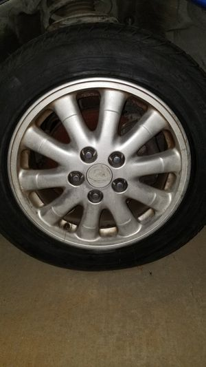 3000gt 16 inch wheel custom made to fit 3000gt or vr4 very light aluminum for Sale in Moreno Valley, CA