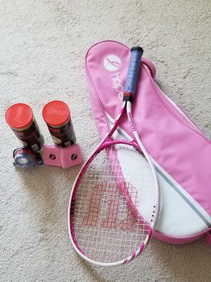 Tennis racket with case for Sale in Manassas, VA