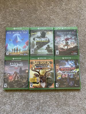 $20 each Xbox one Xbox 360 games for Sale in Modesto, CA
