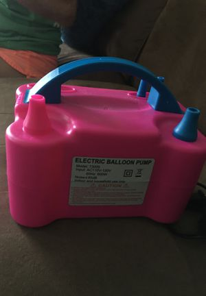 Electric balloon pump for Sale in Independence, MO