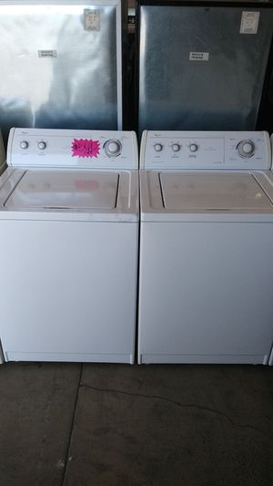 WHIRLPOOL TOP LOAD SET for Sale in Montclair, CA