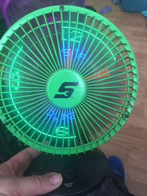 Snap-on led fan clock for Sale in Bowling Green, MO