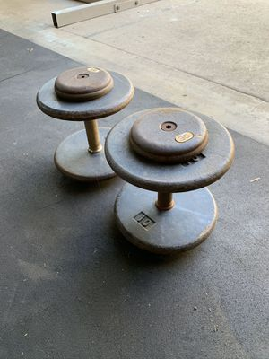 ✅30lb Pro Style Dumbbell Set ✅ for Sale in Montebello, CA