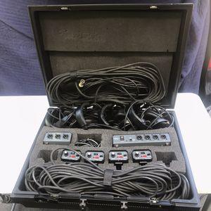 PORTA COM wired intercom event/studio/theater for Sale in Franklin, MA