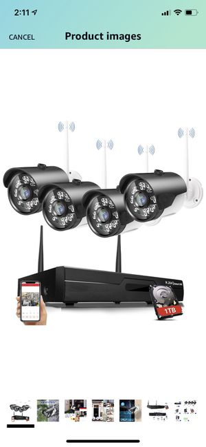 Security camera system for Sale in Lancaster, CA
